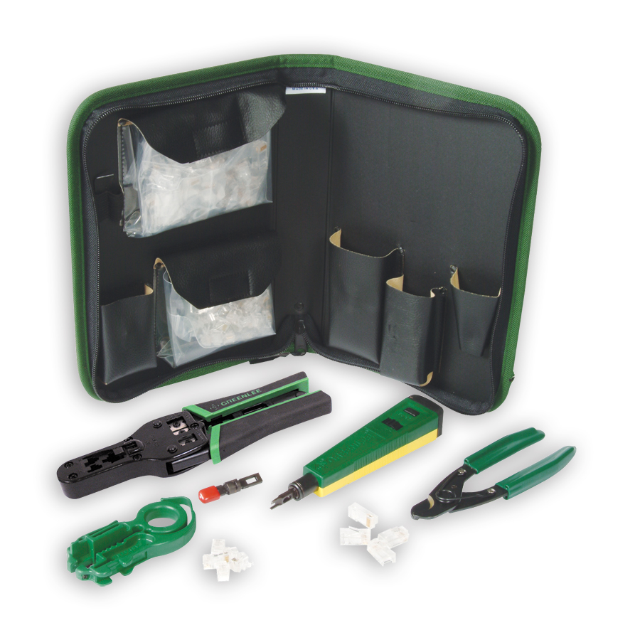 Greenlee 45469 Voice and Category 5 Data Termination Kit
