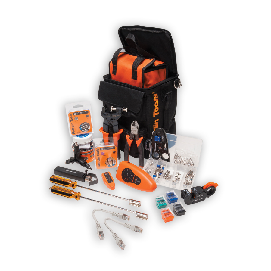 Paladin Tools PA4939 Ultimate Coax Compression Tool Kit