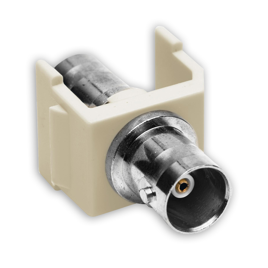 """Hubbell SFBXX BNC Connector, Pass-Thru, F/F Coupler"""