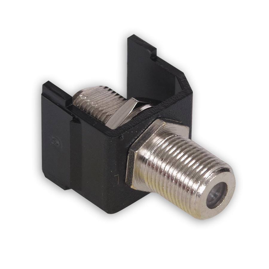 """Hubbell SFFBX F-Type Connectors, F-Connector, Pass-Thru, F/F Coupler"""
