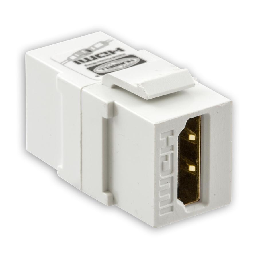 """""""Hubbell SFHC14XX HDMI 1.4 Connectors, HDMI Keystone Feed Thru"""""""