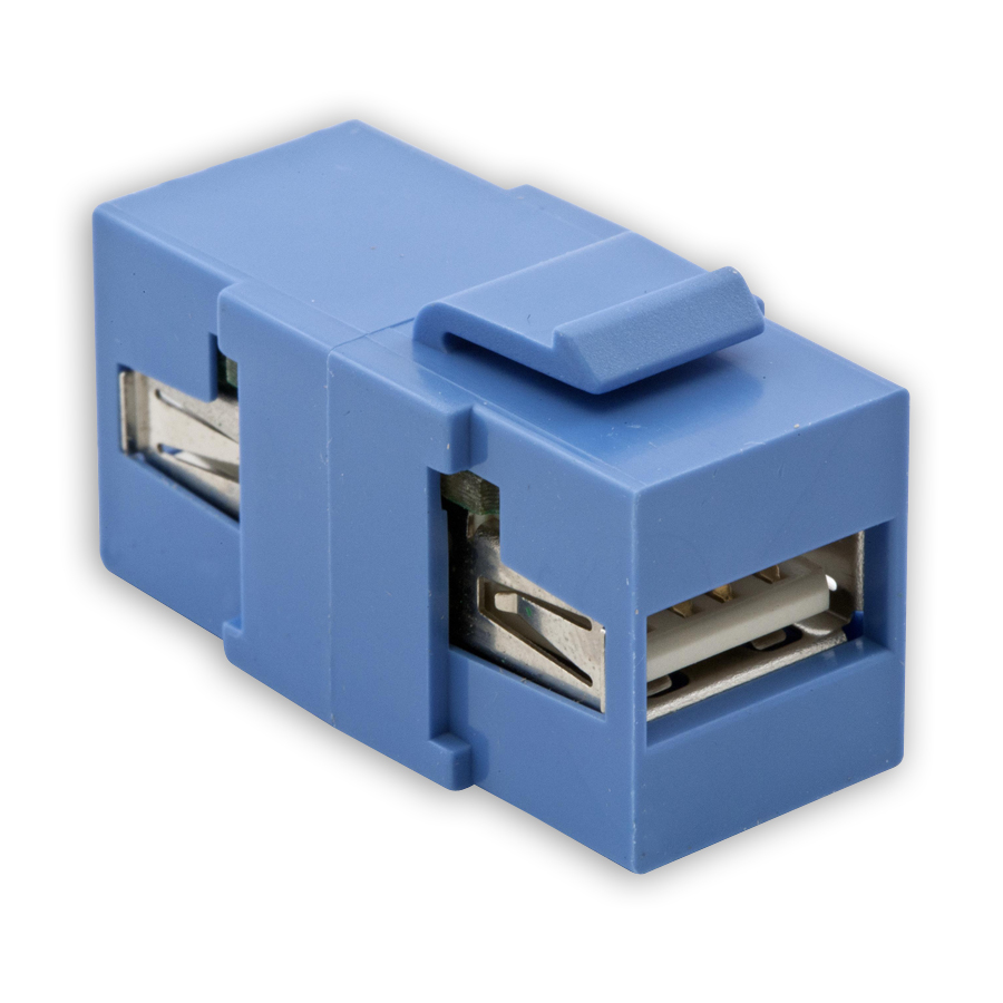 """Hubbell SFUSBAAXX USB Connector, Format A-to-A"""
