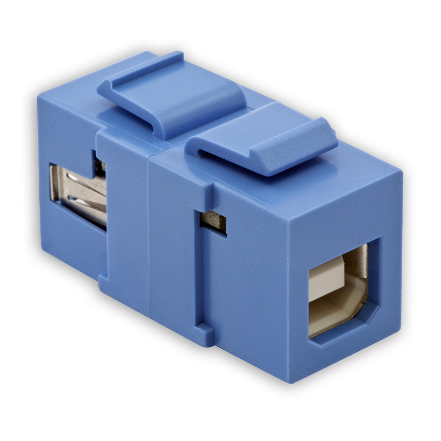 """Hubbell SFUSBABXX USB Connector, Format A-to-B"""