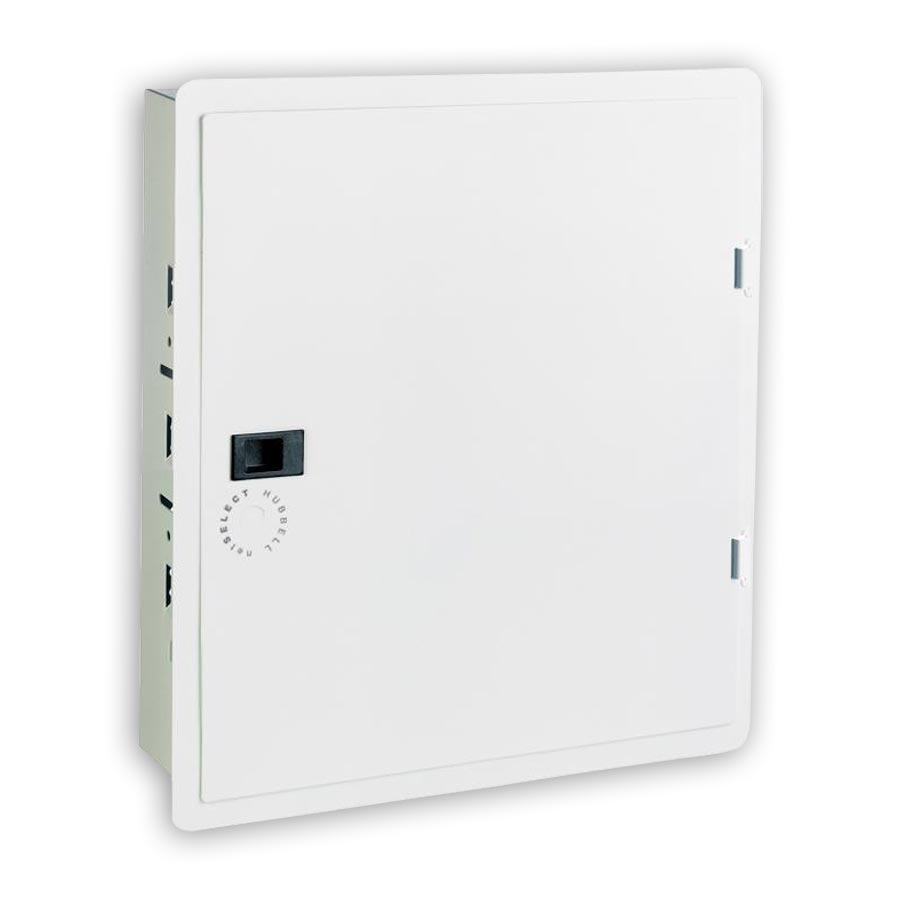 """Hubbell NSOBOX14 14 Inch Network Enclosure With Hinged Cover, 15.55öH x 15.65öW x 4.08öD"""
