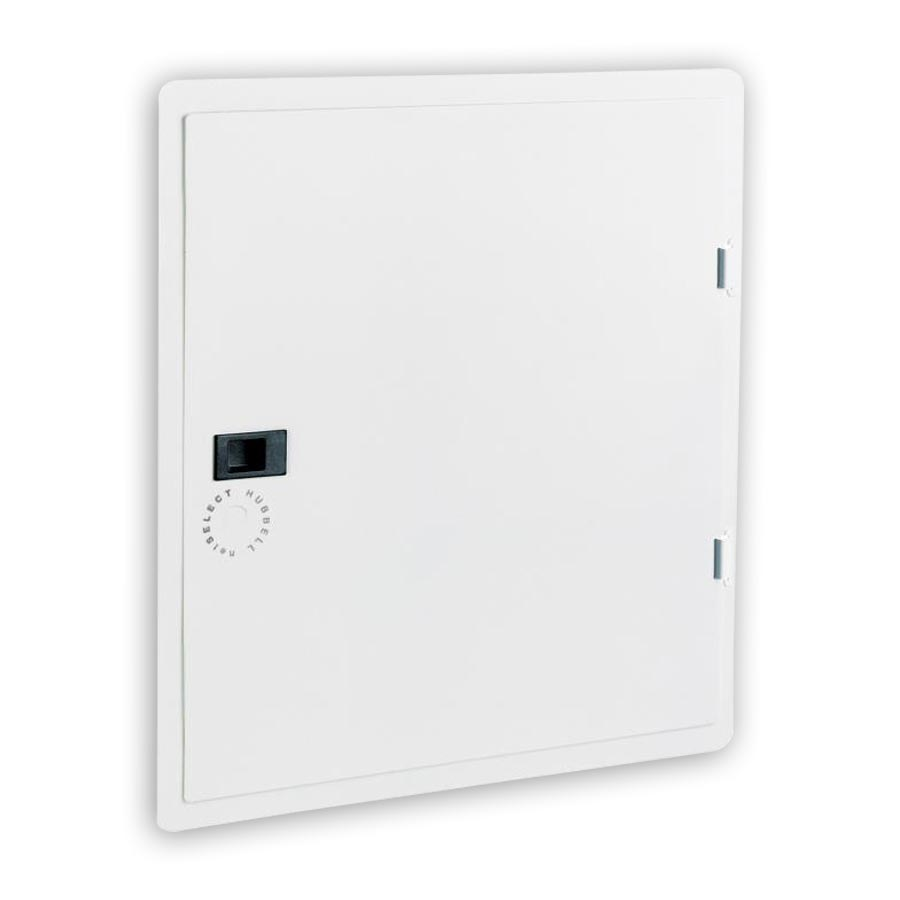 """Hubbell NSOBX10C 10 Inch Network Enclosure for MDU and Modular Applications, Panel Cover, 11.07öH x 15.50öW x 0.20öD"""