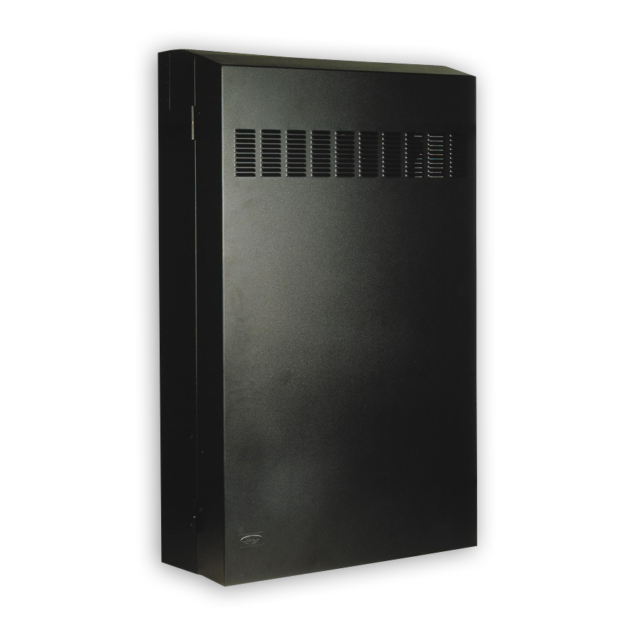 """Hubbell RE4XB RE-BOX« û Commercial Equipment Cabinet, 22ö Max Switch, 42öD x 24.2öH x 10öW, Black"""
