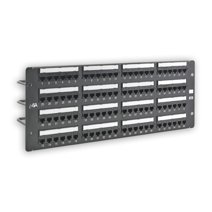 """Hubbell HP6A96 NEXTSPEED Ascent Category 6A, Component Compliant Patch Panels, 96 Ports"""