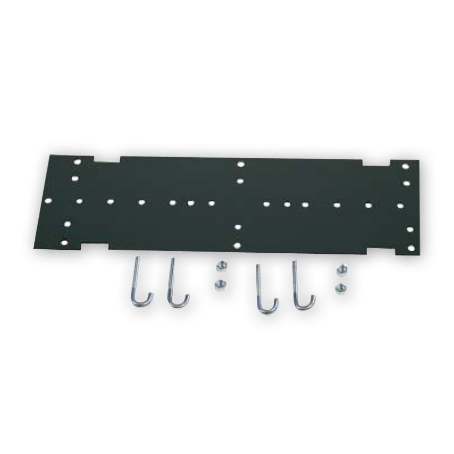 """Hubbell HLMPK19 3"""" Mounting Kit to Relay Rack"""
