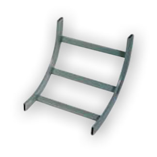 """Hubbell HLO0690 Degree Ladder Rack Outside 90 Degree 6"""""""
