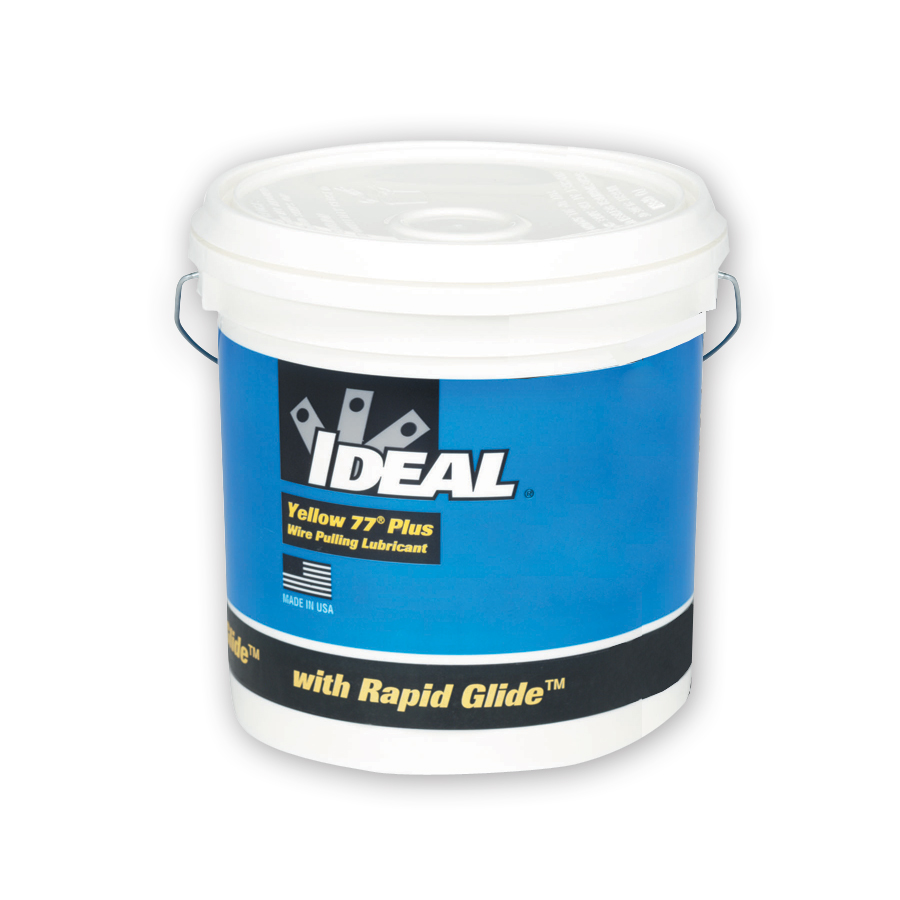 Ideal 31-391 Yellow 77® Plus Wire Pulling Lubricant 1 Gal. Bucket