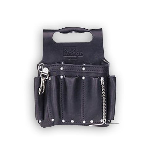 """Ideal 35-950BLK Tuff-Tote Tool Pouch, Black Leather Model"""