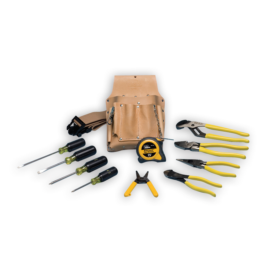 Ideal 35-805 ELECTRICIAN'S TOOL KIT