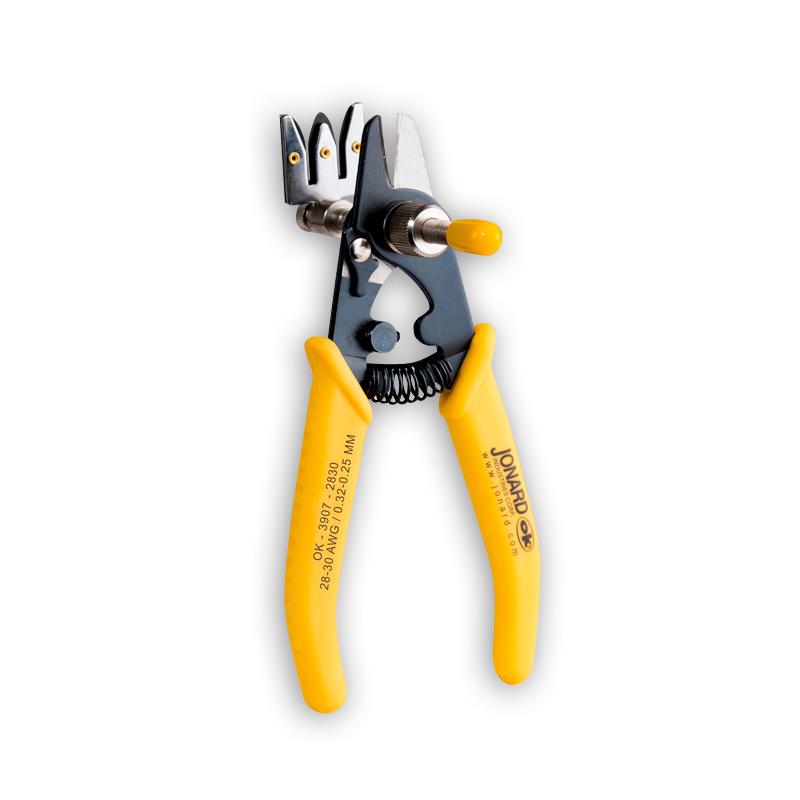 """Jonard OK-3907-2830 Adjustable Precision Wire Stripper, 28-30 AWG"""