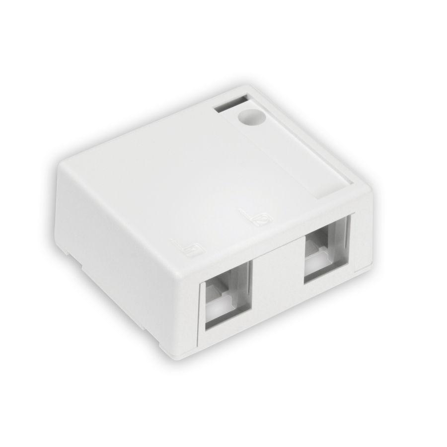 Leviton 41089-2*P 2-Port Surface Mount Box