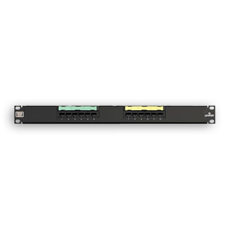 Leviton 69586-U12 12 port eXtreme 6+ Universal Patch Panels