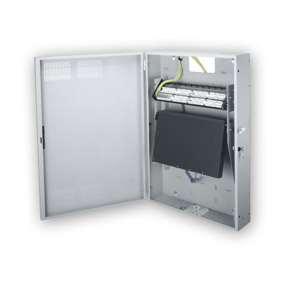 Middle Atlantic HDR-4 Wall Mount Horizontal Equipment Cabinet