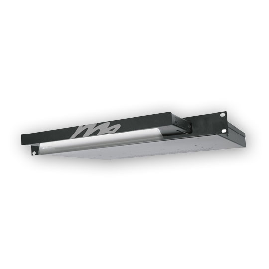 Middle Atlantic LT-1R Rackmount Light - Flat Black Powder Coat