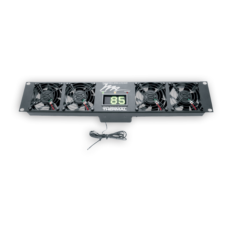 Middle Atlantic UQFP-4 UQFP Series Ultra Quiet Fan Panels