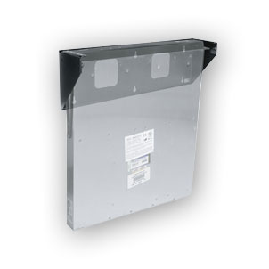 """Middle Atlantic VPM-2 2 space, vertical panel mount"""