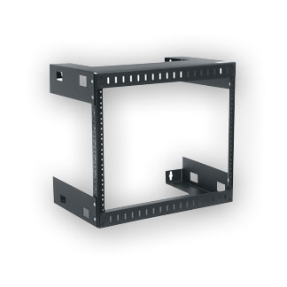 """Middle Atlantic WM-8-12 Wall Mount Open Frame Rack - 12"""" D, 8 space"""