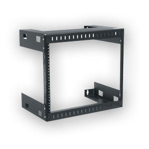 """Middle Atlantic WM-8-18 Wall Mount Open Frame Rack - 18"""" D, 8 space"""
