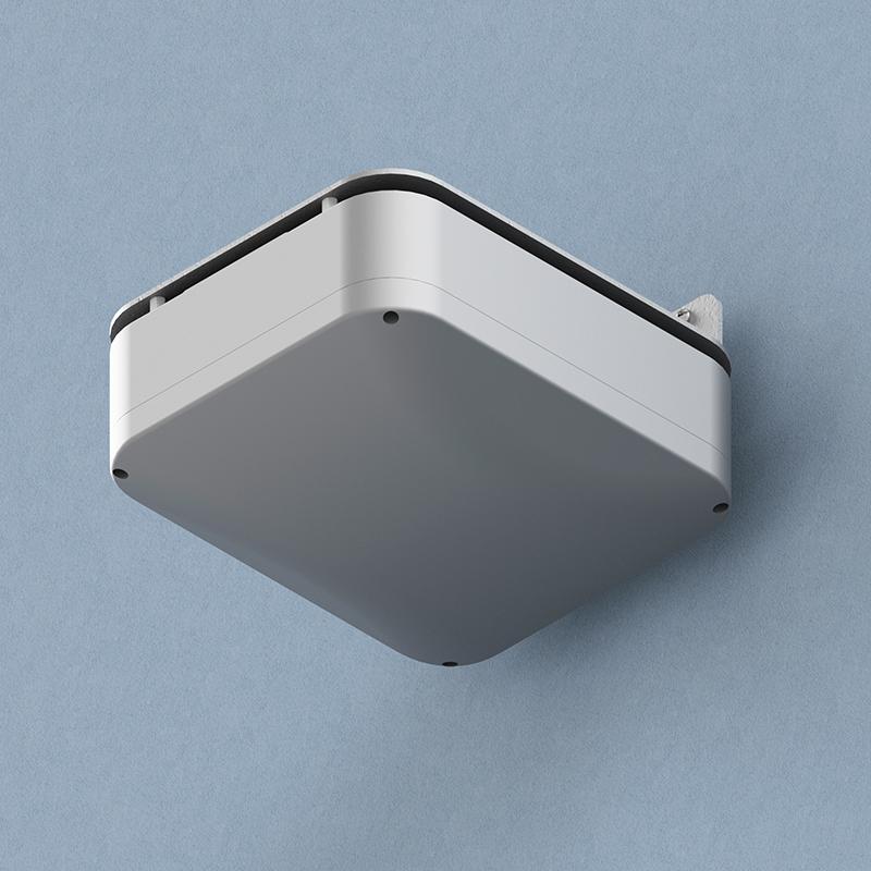 """Oberon 1020-RAB NEMA 4 WAP Enclosure: Screw-on cover, Right-angle"""