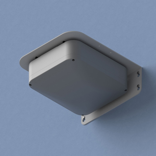 """Oberon 1020-RAB NEMA 4 WAP Enclosure: Screw-on cover, Right-angle"""