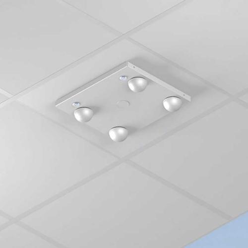 Oberon 1028-04-ANT5-F 16ö x 14ö x 4ö with 23.75ö flange fits standard (U.S.) 2Æ x 2Æ ceiling grid