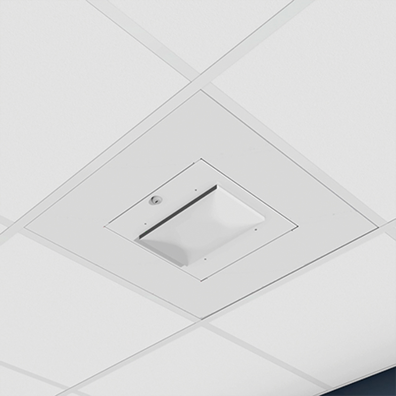 """Oberon 1046-MR Door for Meraki 32/34/42 APs, lay-in tile"""