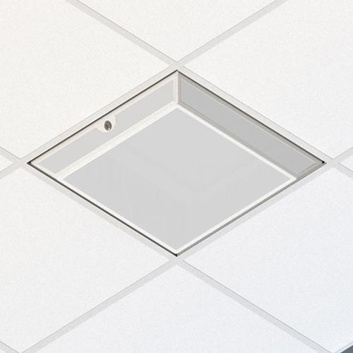 Oberon 1074-04-VENT 3U Suspended Ceiling Zone Enclosure-Ventilated door 4ö back-box