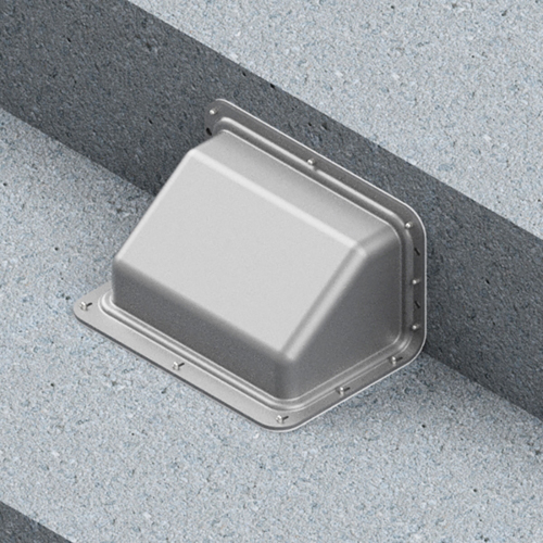 Oberon 3010-00 Stadium Underseat Enclosure for WAPs
