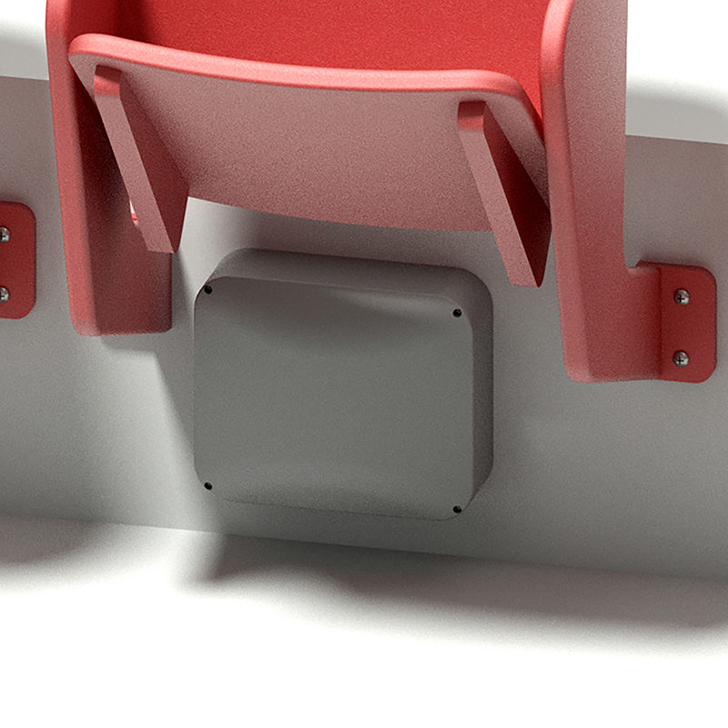 Oberon 1020-00 NEMA Enclosure - PC Plastic - Screw on Cover - Cisco AP