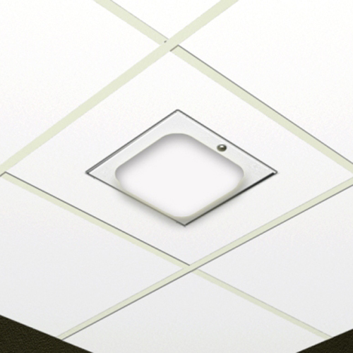 Oberon 1077-WA Suspended Ceiling Enclosure - White ABS Dome for Multi-vendor WAP