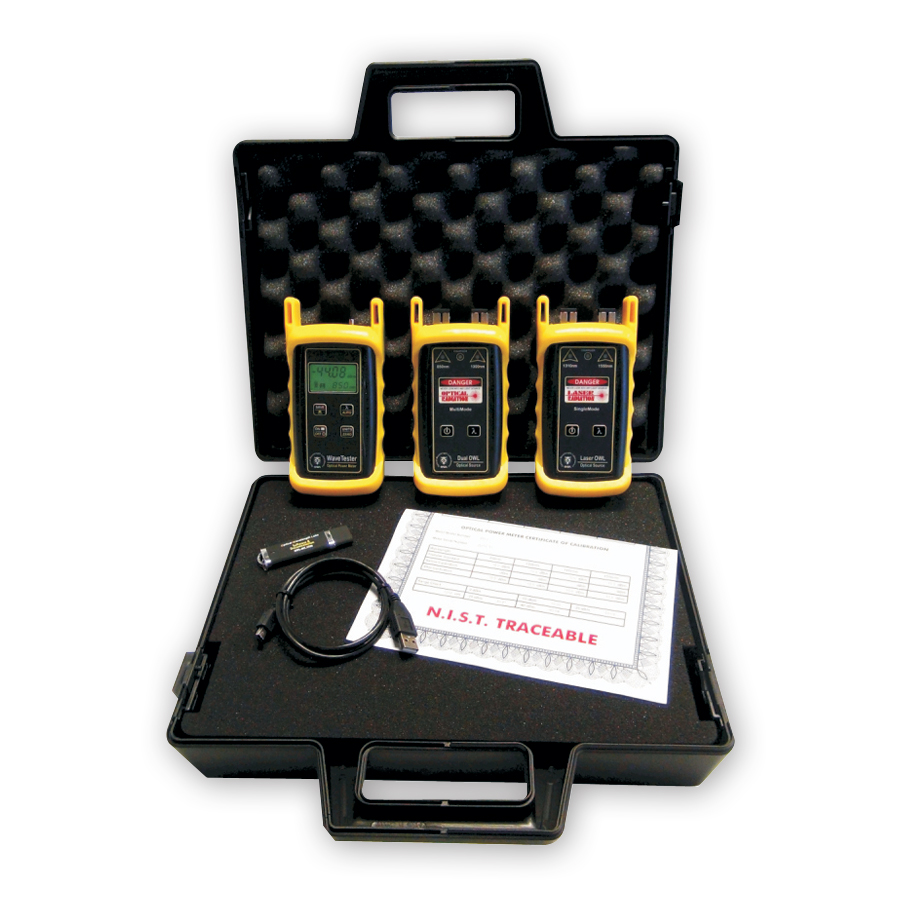 Optical Wavelength Laboratories KIT-WT-D2xx-L2xx WaveTester / Dual OWL / Laser OWL Test Kit