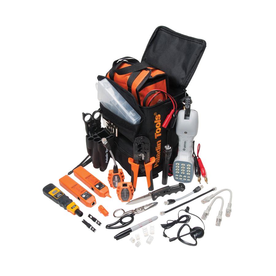 Paladin Tools PA4938 Telco Technician Tool Kit