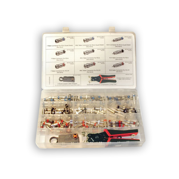 """Platinum Tools 90125 SealSmart Field Installation Kit, Nickel"""