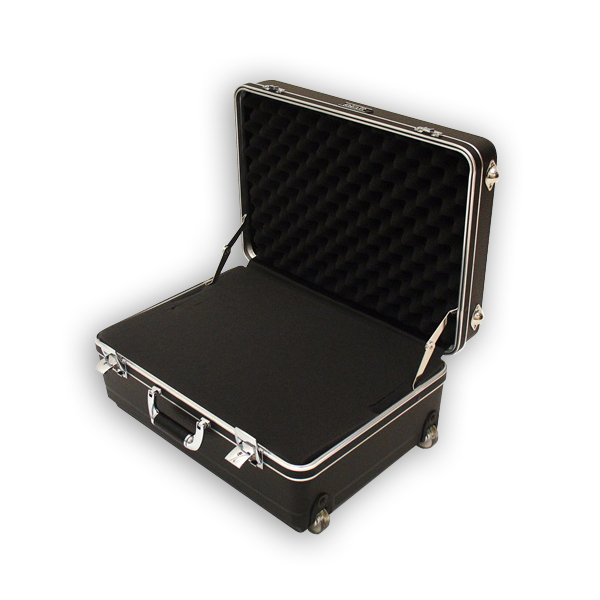 Platt 201407H Polyethylene Case with Wheels and Telescoping Handle