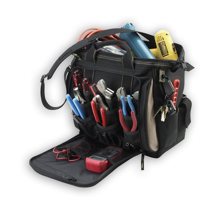 """CLC 1537 13"""" Multi-Compartment Tool Carrier"""