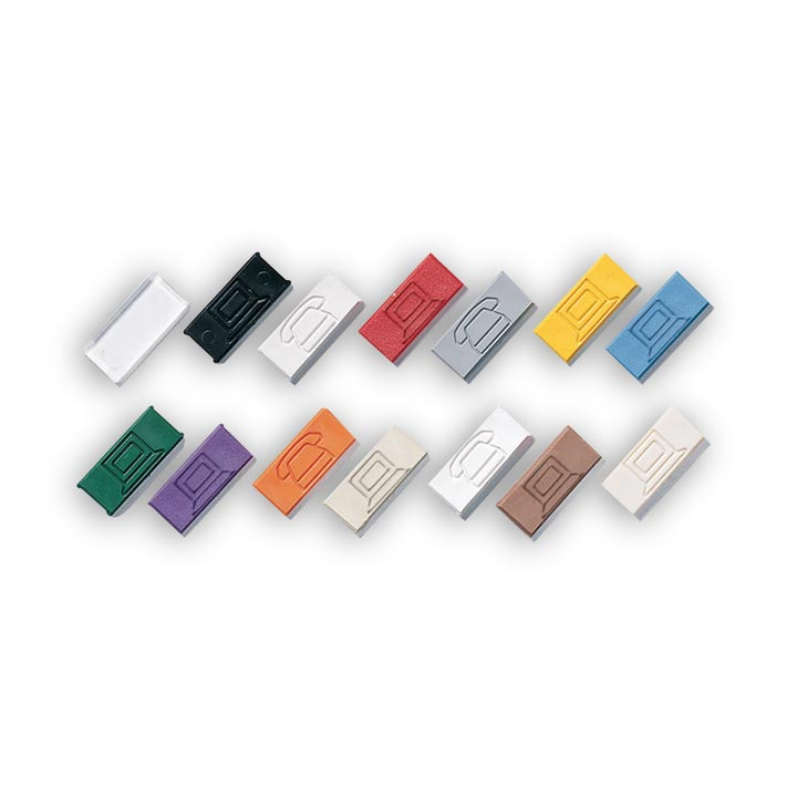 Siemon CT-ICON-(XX) 25 colored icon tabs