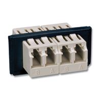 """""""Siemon FOB-BZL-LC(X)-01 2 Duplex LC adapters, (4 fibers)"""""""