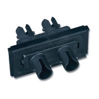 """""""Siemon FOB-BZL-SA-01 Duplex ST adapters, (2 fibers)"""""""