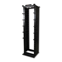 Siemon RS-07E 2.1 x 0.48m (7 ft. x 19 in.) aluminum extra-deep cable management rack