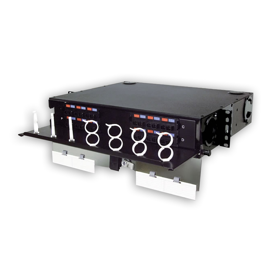 """Siemon RIC3-24-01 24-96-port rack mount interconnect center, 2 RMS"""