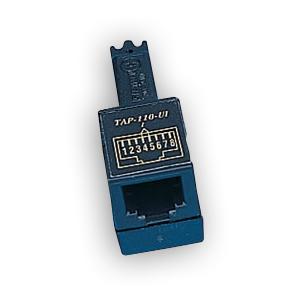 """""""Siemon TAP-110-U1 1 pair, S110 test adapter, USOC wiring """""""""""""""