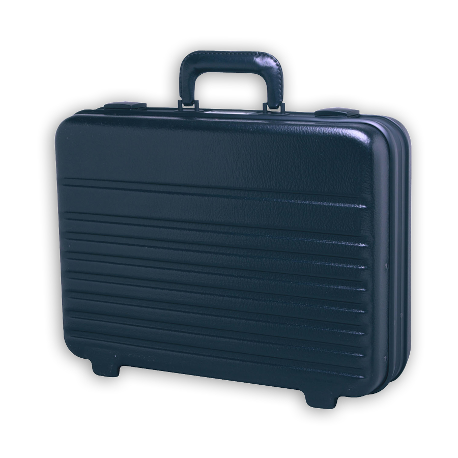 Xcelite TCMB150MT Black Polyethylene Attache Tool Case - without Tools
