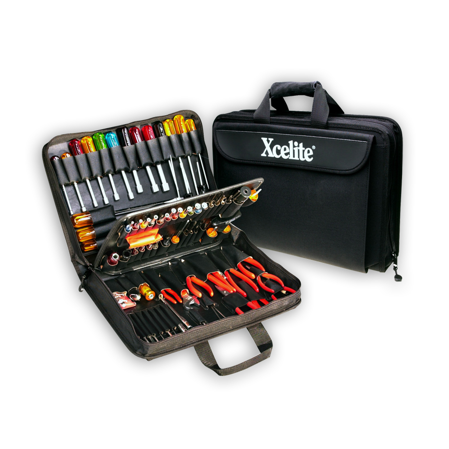 Xcelite TCS100ST  Rugged Cordura Tool Case - with Tools